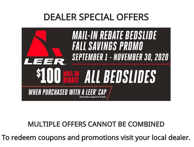 LEER Fall 2020 Dealer Special