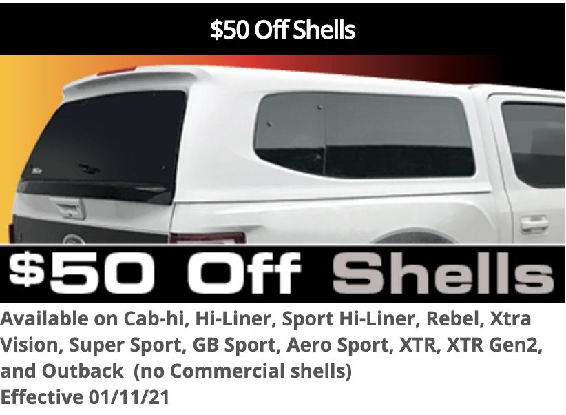 $50 SnugTop Shells