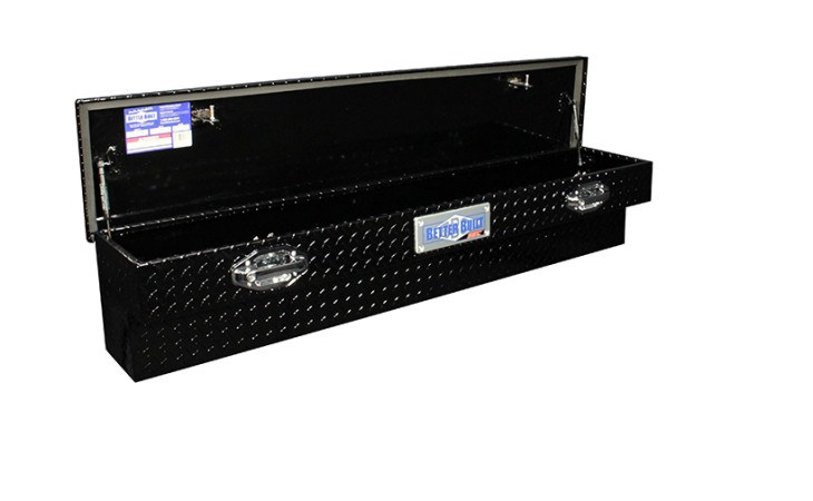 BetterBuilt Side Mount Tool Box Truck Accessory in Black
