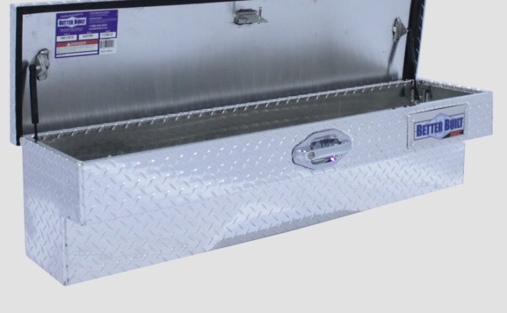 BetterBuilt Side Mount Tool Box Truck Accessory in Silver