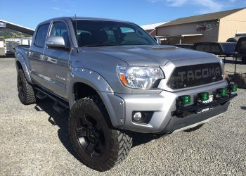 Toyota Tacoma with Bushwacker Pocket Style Fenders