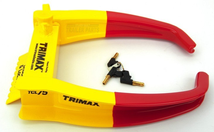 TriMax TCL75 Wheel Chock Lock for Trucks
