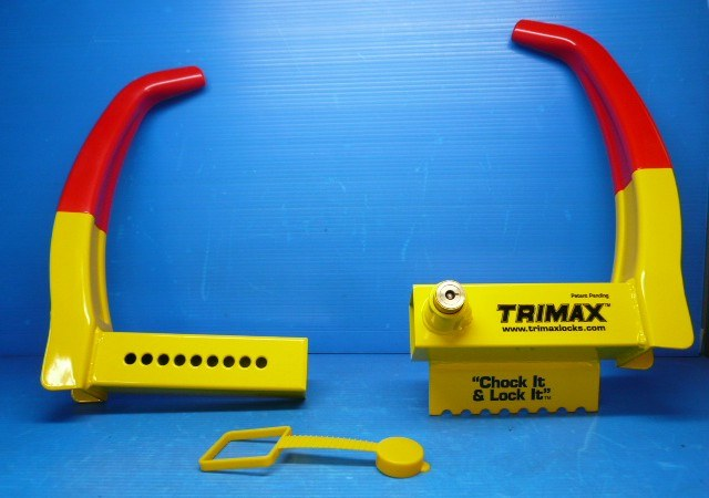 TriMax TCL75 Wheel Chock Locks