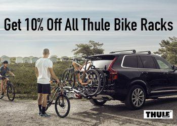 Get 10% off all Thule bike racks through January 2021