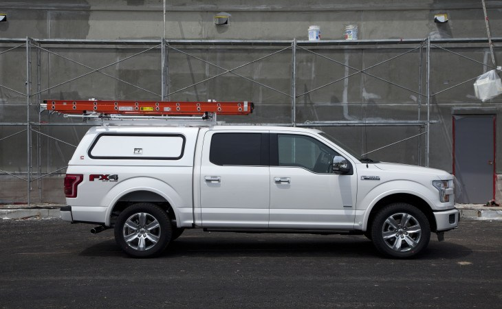 Century Ultra CF Camper Shell Truck Accessory