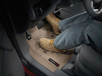 Weather Tech Digital Fit Floor Liner Installed in Truck