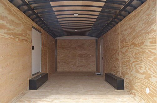 Cargo Express XL Series Trailer Interior