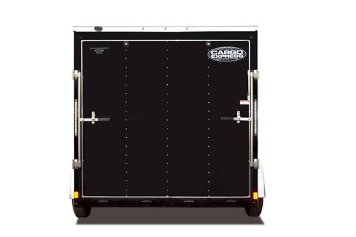 Cargo Express XL Series Trailer Black Rear
