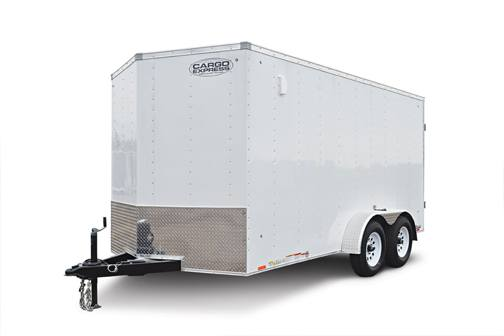 Cargo Express XL12980 Trailer Front Left
