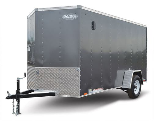 Cargo Express XL Series Trailer Front Left