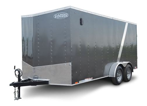 Cargo Express XL716TE2 Trailer Front Left