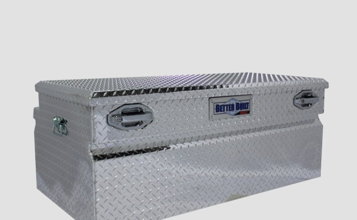 BetterBuilt SEC Chest Truck Box in Silver