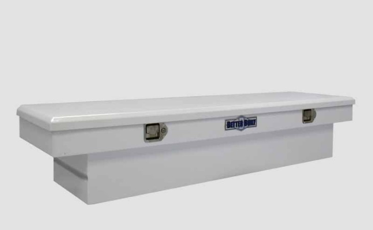 BetterBuilt Crown Series Truck Tool Box in White