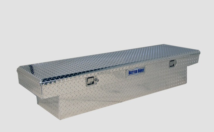 BetterBuilt Crown Series Truck Tool Box in Silver