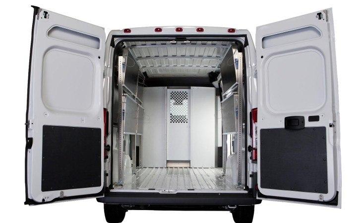 Ranger Utility Van Accessories Inside