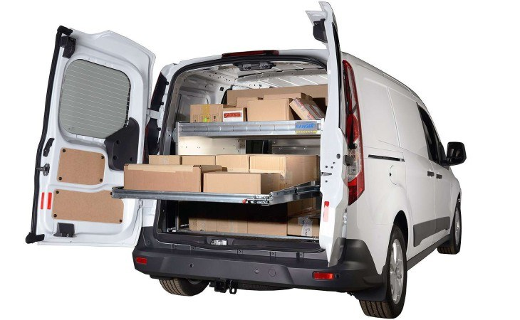 Ranger Van Sliding Shelves