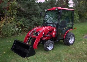 Mahindra eMax25 Cab Tractor