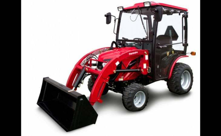 Mahindra eMax25 Cab Tractor with Loader