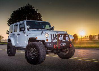 Hammerhead bumper on jeep