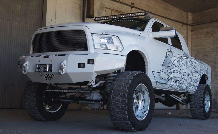 Hammerhead bumper white