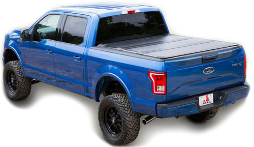 Tonneau cover on ford truck