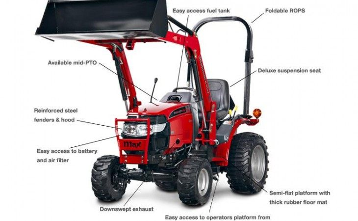 Mahindra Max24 Tractor Features