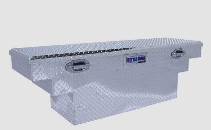 betterbuilt sec crossover stepped truck tool box in silver