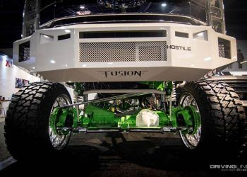 SEMA show custom pickup lift kit