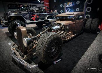SEMA show classic custom hot rod