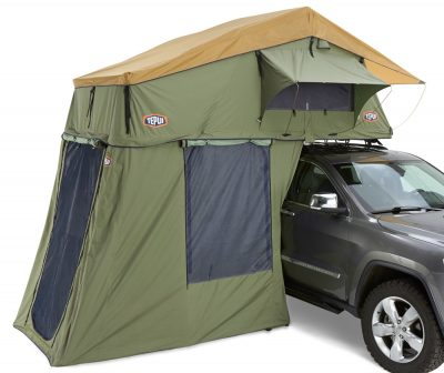 Tepui rooftop tent for camping