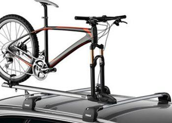 Bike on Thule Bike Rack