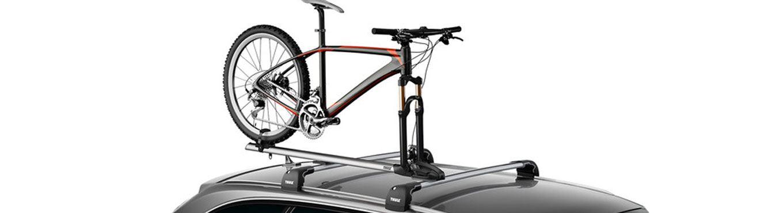 Bike on Thule Bike Rack