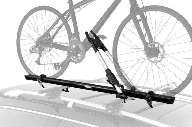 Thule frame mounted rooftop bike rack