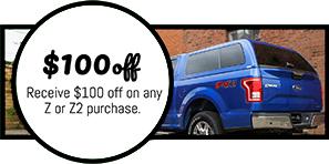 z series truck cap coupon